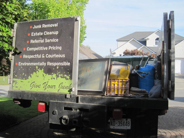 Downsizing can be a lot of work, but getting rid of excess junk can also be liberating